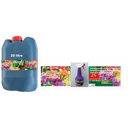HNitosol 20lt Tüm süs bitkileri için yaprak besleyici parlatıcı