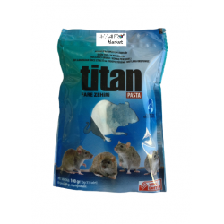 Fare Zehir ilaçTitan Pasta 100 gram 100 paket