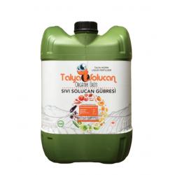 Organik Sıvı Solucan Gübre 20 kg Talya Humik Fulvik Sebzede