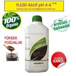 FULL MOL 2.4 (  Humik Fulvik Asit ) 5 Kg Sıvı Organik Gübre