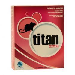Titan Pellet Fare Zehiri 5 x 80 G